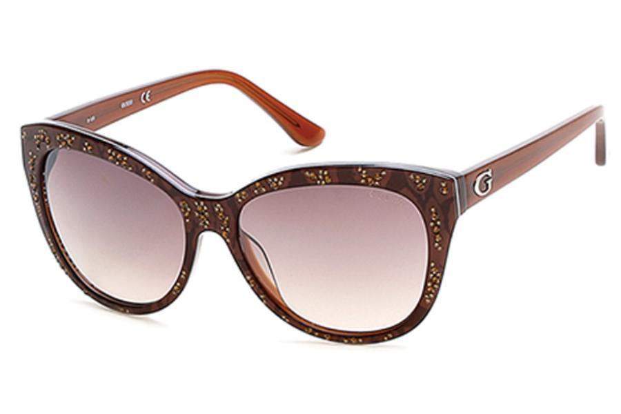 Guess dámske slnečné okuliare GU7437 50F  8818b796a34