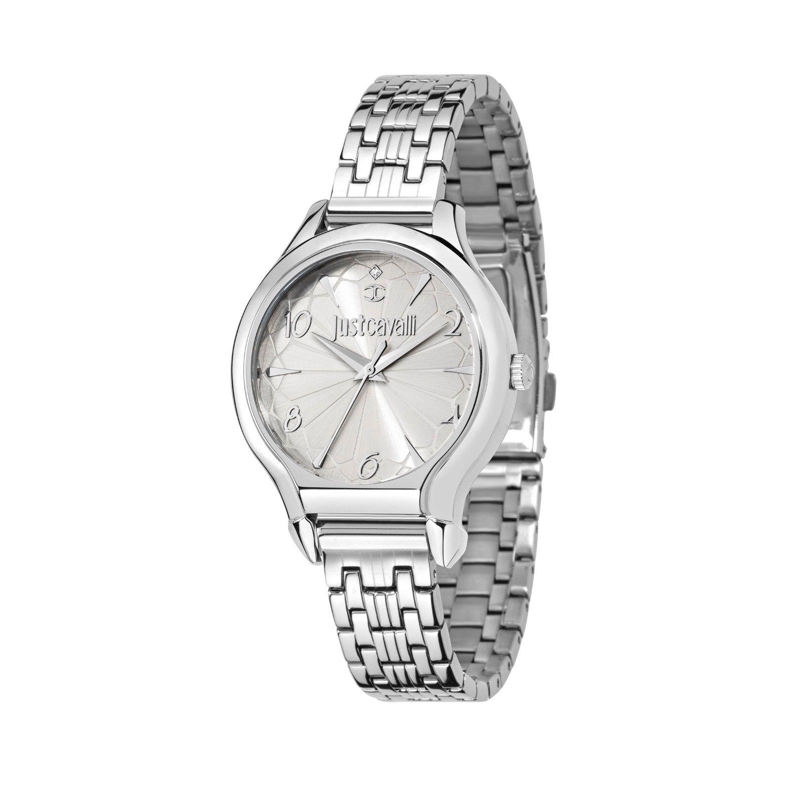 Just Cavalli dámske luxusné hodinky strieborné 5e7dadd33f